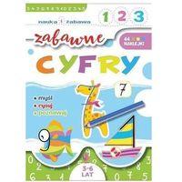 Książki dla dzieci, Zabawne cyfry. Nauka i zabawa - Praca zbiorowa