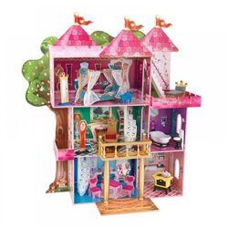 KidKraft drewniany Domek dla Lalek zamek Mebelki