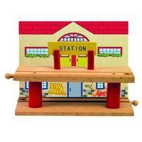 Kolejki i tory dla dzieci, Woody drewniana wielopoziomowa stacja