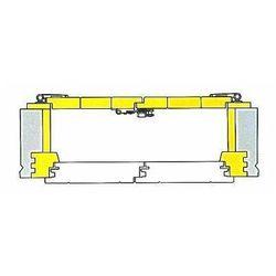 Typy montażu okiennic - z przylgą mocowane do ramy - szkice poglądowe