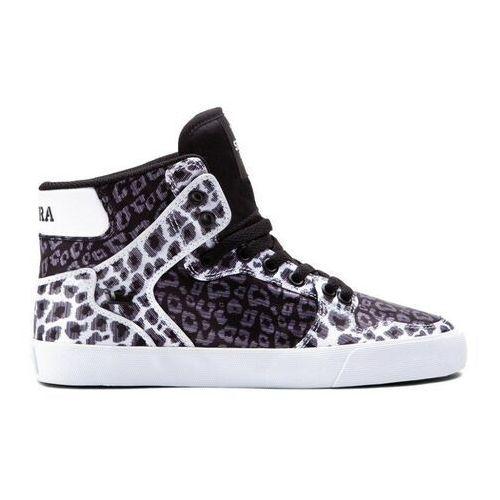 Damskie obuwie sportowe, buty SUPRA - Women-Vaider Black/Animal (BAN) rozmiar: 36