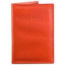 ✅ Czerwona Okładka antyRFID na Paszport Biometryczny Sztuczna Skóra - Czerwony połysk