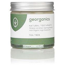 Georganics, Mineralna pasta do zębów Tea Tree, 60ml
