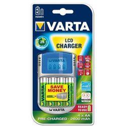 Ładowarka do akumulatorów AAA, AA Varta LCD-Lader, NiMH, z zestawem akumulatorów