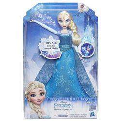 Lalka HASBRO Frozen Rozświetlona śpiewająca Elsa + Zamów z DOSTAWĄ JUTRO! + DARMOWY TRANSPORT!