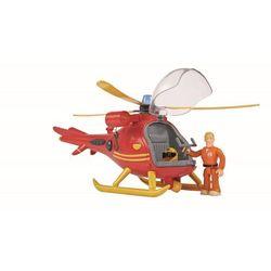Strażak sam helikopter ratowniczy