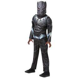 Kostium Czarna Pantera Deluxe dla chłopca - S