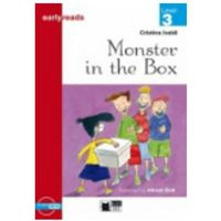 Książki do nauki języka, Monster in the box + CD level 3 (opr. miękka)