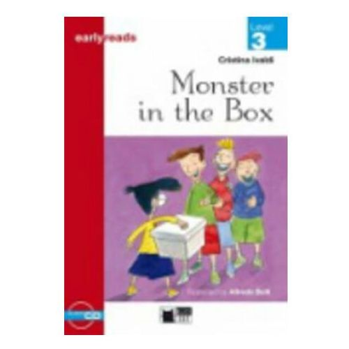 Książki do nauki języka, Monster in the box + CD level 3 (opr. miękka)