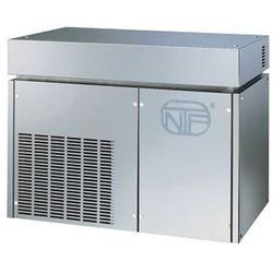 Łuskarka do lodu 400 kg/24 h, chłodzona wodą, 2,1 kW, 900x588x705 mm | NTF, SM 750 W