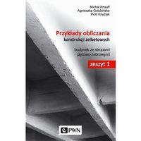 Pozostałe książki, Przykłady obliczania konstrukcji żelbetowych Zeszyt 1 z płytą CD-ROM (opr. miękka)
