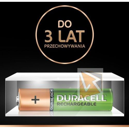 Akumulatorki, Duracell Akumulator AAA/HR3 750mAh 4szt blister