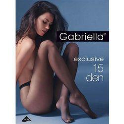 Rajstopy Gabriella Exclusive 15 den beige/odc.beżowego - beige/odc.beżowego