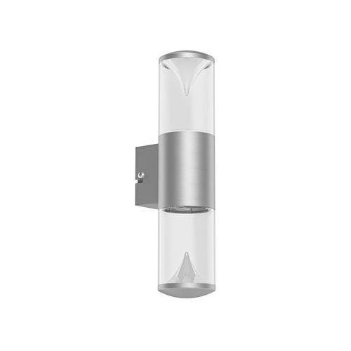 Lampy ścienne, Kinkiet zewnętrzny Eglo Penalva 94812 lampa oprawa 2x3,7W LED IP44 satyna