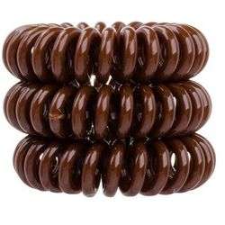 Invisibobble The Traceless Hair Ring gumka do włosów 3 szt dla kobiet Pretzel Brown