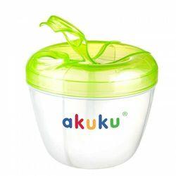 Pojemniki do przechowywania mleka w proszku z dozownikiem Akuku
