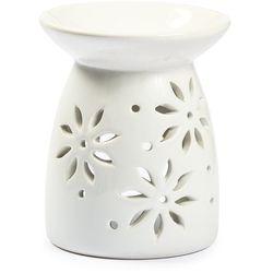 Kominek zapachowy biały kwiatki, Dakls