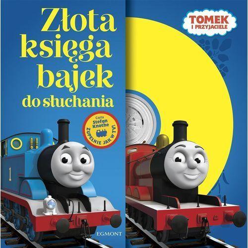 Książki dla dzieci, Tomek I przyjaciele złota księga bajek do słuchania (opr. miękka)