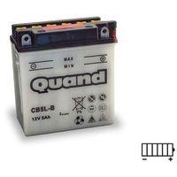 Akumulatory do motocykli, Akumulator motocyklowy QUAND CB5L-B / YB5L-B 12V 5Ah 65A