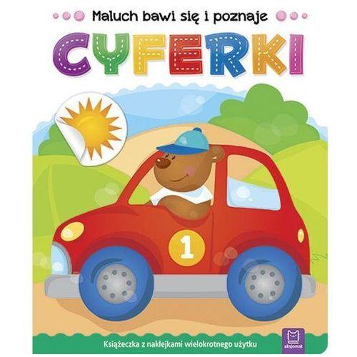 Książki dla dzieci, Maluch bawi się i poznaje Cyferki - Praca zbiorowa (opr. miękka)