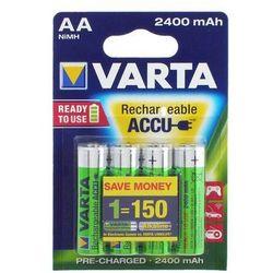 4 x VARTA R6/AA 2400mAh PowerAccu