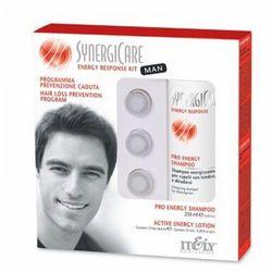 Itely Hairfashion SYNERGICARE ENERGY RESPONSE KIT MAN Energetyzująca kuracja dla mężczyzn do walki z wypadaniem włosów
