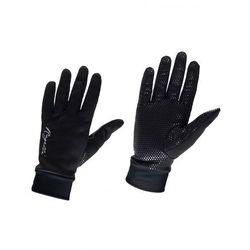 ROGELLI LAVAL Damskie zimowe rękawiczki Czarne 010.661 Rozmiar: M,ROGELLI LAVAL 010.661