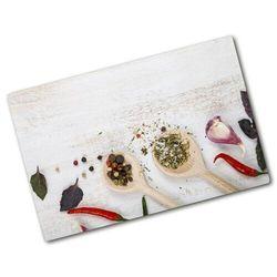 Deska do krojenia hartowana Warzywa i przyprawy