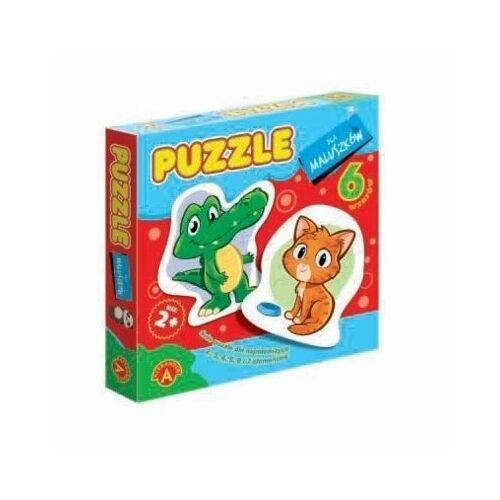 Pozostałe zabawki dla najmłodszych, Alexander Puzzle dla maluszków Krokodyl