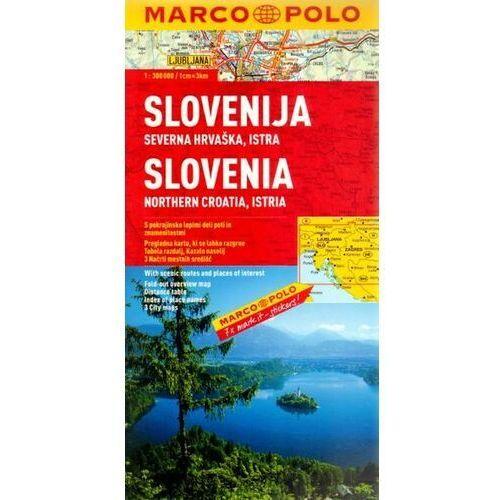 Mapy i atlasy turystyczne, Słowenia mapa samochodowa 1:300 000 (opr. broszurowa)