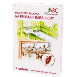 ABC Detektor - pułapka na prusaki i karaluchy 2szt.