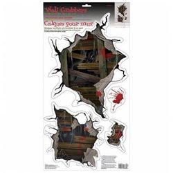 Dekoracja ścienna na Halloween - 4 el.