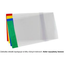 Okładka A4R regulowana 30,3cm x 40,8-44cm krystal - A4R (29,7cm x regulowana szer.)