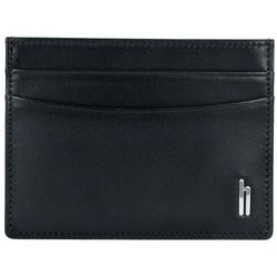 Hartmann Memphis east Etui na karty kredytowe skórzane 10 cm shiny black ZAPISZ SIĘ DO NASZEGO NEWSLETTERA, A OTRZYMASZ VOUCHER Z 15% ZNIŻKĄ
