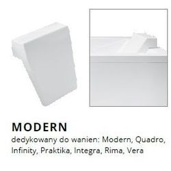 Zagłówek do wanien Besco model Modern