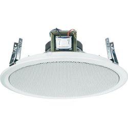 Głośnik sufitowy PA do zabudowy Monacor EDL-10TW, Moc RMS: 2 W, 50 - 20 000 Hz, 100 V, Kolor: biały, 1 szt.