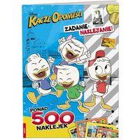 Książki dla dzieci, KACZE OPOWIEŚCI Zadanie naklejanie! LAS-49- bezpłatny odbiór zamówień w Krakowie (płatność gotówką lub kartą).