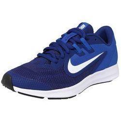 NIKE Buty sportowe 'Nike Downshifter 9' królewski błękit / ciemny niebieski / biały
