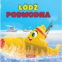Książki dla dzieci, Pojazdy - Łódź Podwodna (opr. kartonowa)