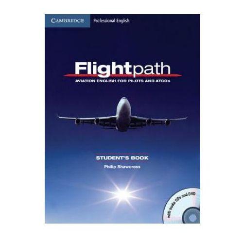 Książki do nauki języka, Flightpath. Aviation English For Pilots And ATCOS Książka Ucznia Plus Płyty Audio CD i DVD (opr. miękka)