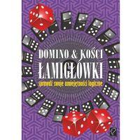 Matematyka, Domino i kości. Łamigłówki - sprawdź swoje umiejętności logiczne (opr. miękka)