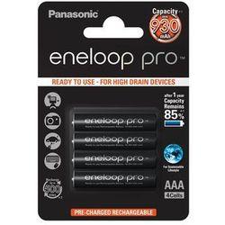 Panasonic Eneloop PRO AAA 900 mAh 500 cykli 4szt