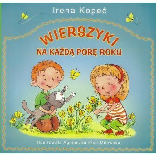 Książki dla dzieci, Wierszyki na każdą porę roku (opr. broszurowa)