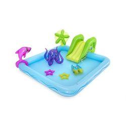 Basen bestway wodny plac zabaw + zjeżdżalnia brodzik