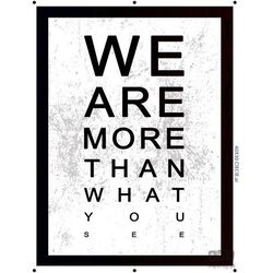 Obraz WE ARE MORE THAN WHAT YOU SEE PT163T2