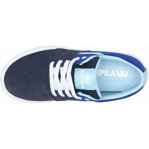 Damskie obuwie sportowe, buty SUPRA - Stacks Vulc Ii Royal/Navy-White (499) rozmiar: 37.5