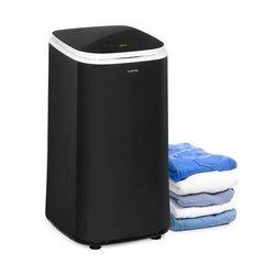 Klarstein Zap Dry, suszarka na pranie, 820 W, 50 l, dotykowy panel sterowania, wyświetlacz LED, czarna