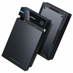 Ugreen kieszeń na dysk HDD obudowa dysku SATA 3,5'' USB 3.0 czarny (50422)