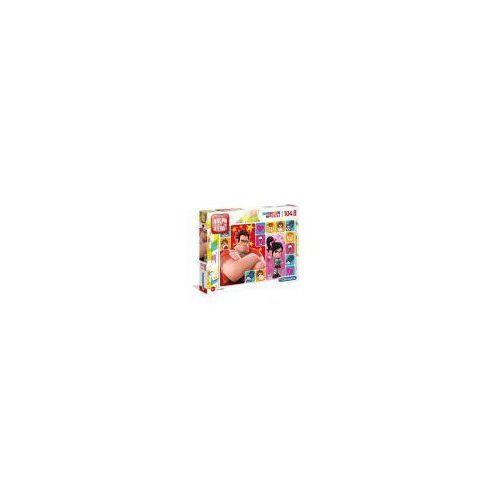 Puzzle, Puzzle 104 elementy Maxi Super Kolor - Raplh