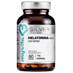 Melatonina forte Sleep support 1 mg 60 kapsułek MyVita Silver
